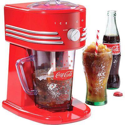Coca-Cola Coke Frozen Slushie Drink Maker Snow Cone Slurpee Slush Ice Machine