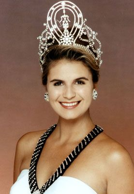 Michelle McLean - Miss Namibia 1991 - Miss Universe 1992