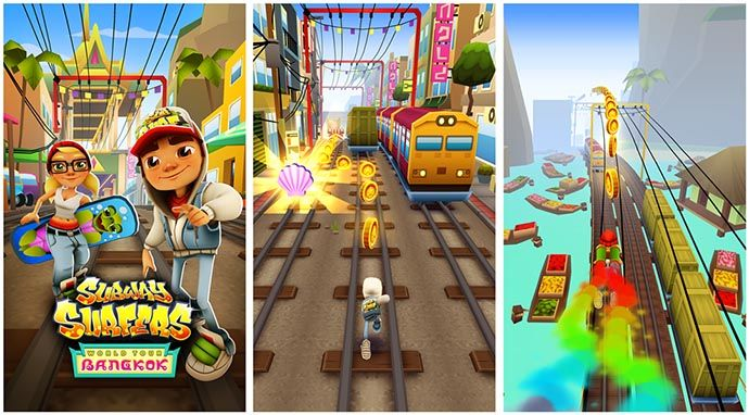 Subway Surfers Bangkok Trucchi Aggiornati 1.31.0 per Android danno monete e chiavi infinite, Download Subway Surfers APK MOD Monete e Chiavi Illimitate