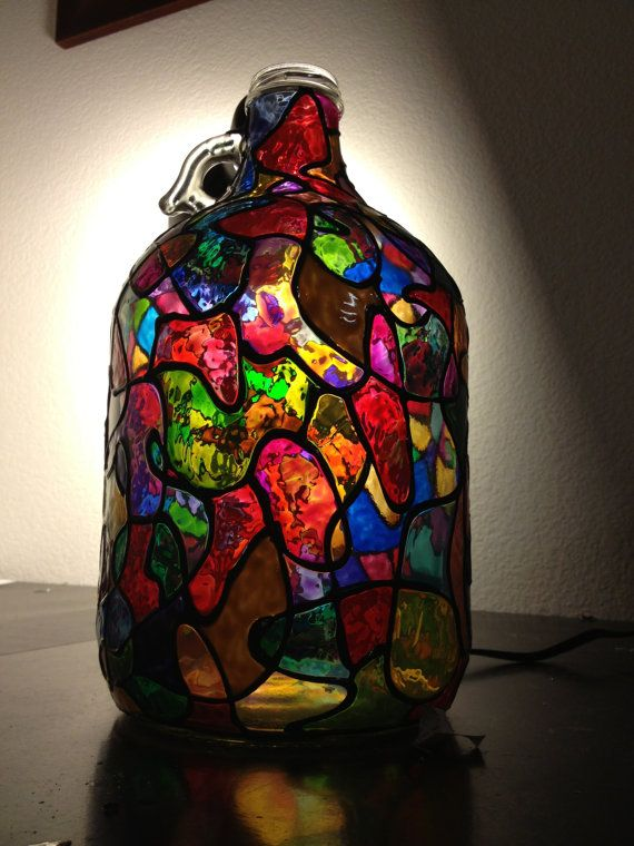 35 best images about mary would like on pinterest easter for Hand painted glass bottles