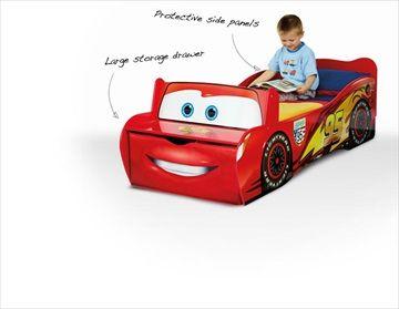 DISNEY 'Cars 2 Lightening McQueen' Barneseng med Oppbevaring. Frifrakt Kr 3199