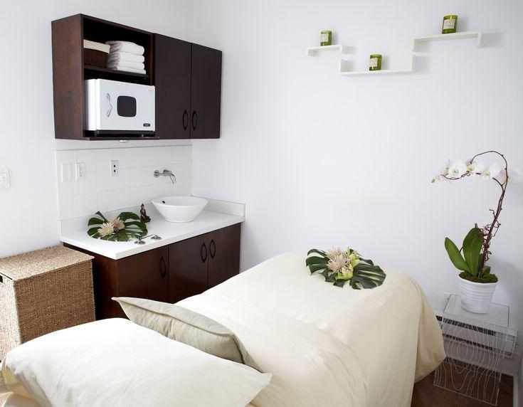 A private treatment room at Thompson Toronto's 889 Yoga + Wellness Spa