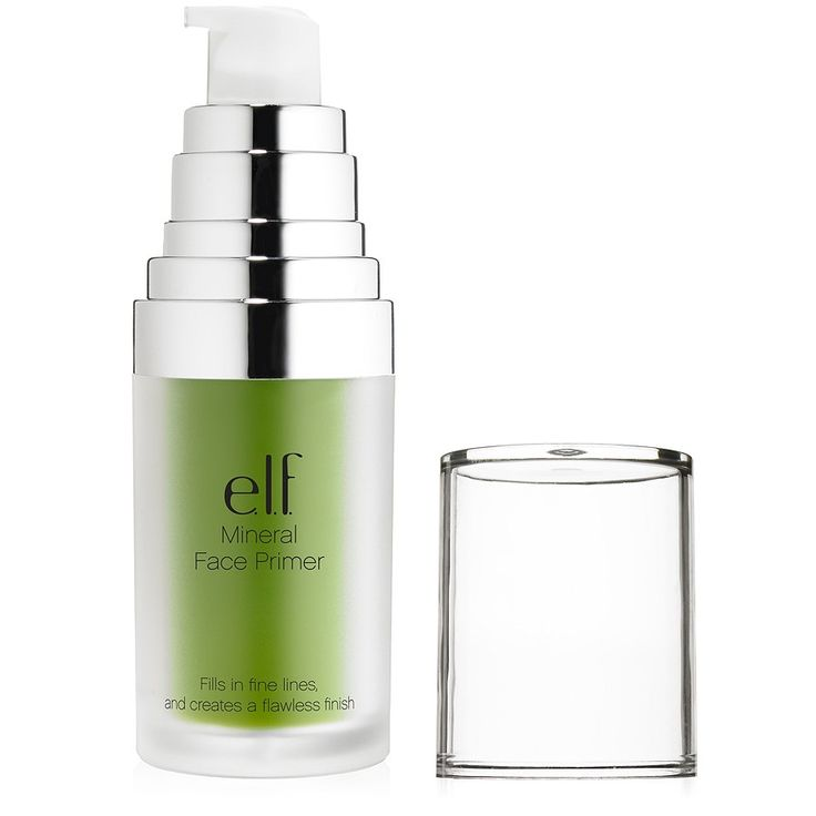 elf studio face primer for professional makeup artists (the green hue evens out skin tone and reduces redness)