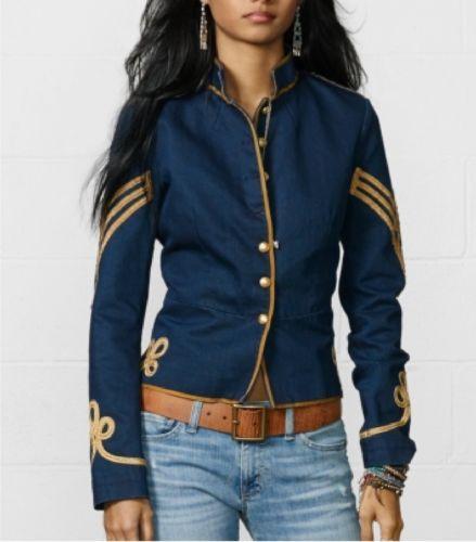 NWT-Denim-and-Supply-Ralph-Lauren-Cavalry-Jacket-Size-S