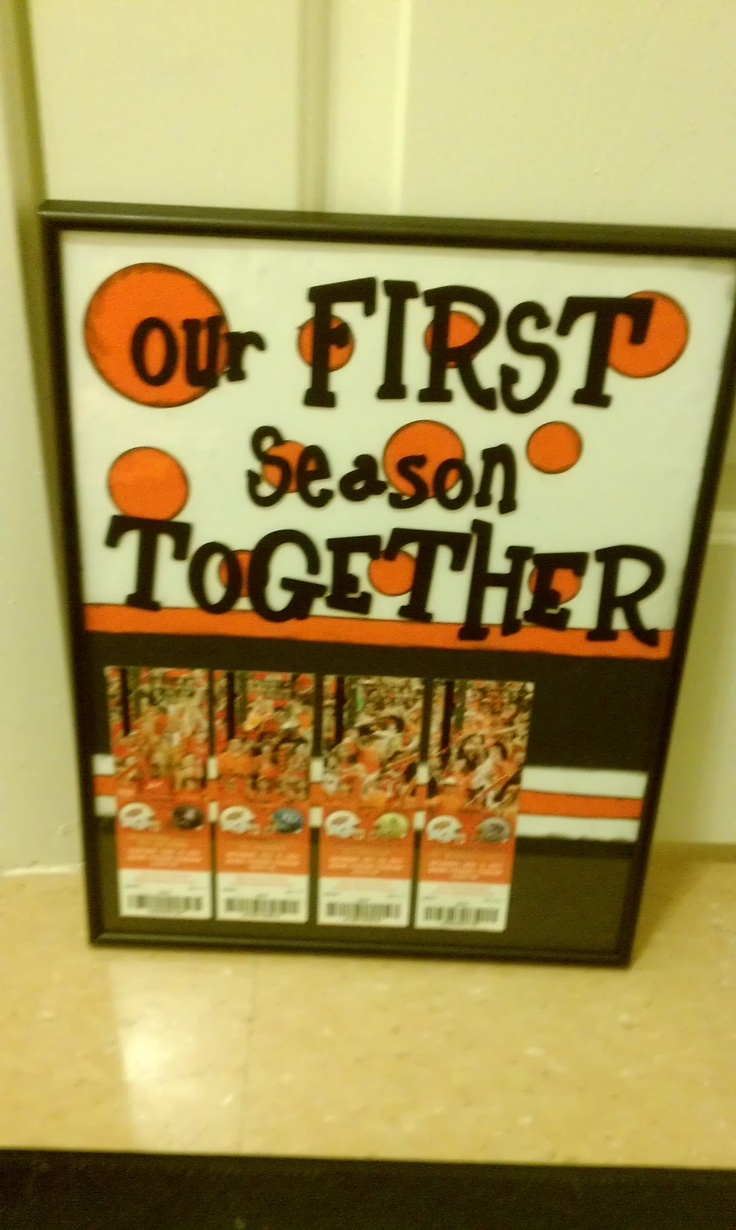 Christmas Gifts Ideas For Boyfriend Part - 47: My Boyfriends Christmas Present:) Missing The Last Game Ticket