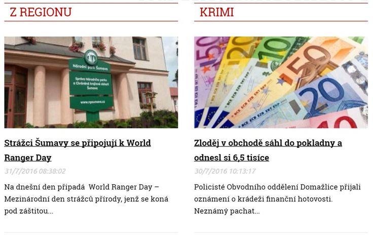 Zprávy z regionu Plzeň >>> http://plzen.cz/category/zpravodajstvi/z-regionu
