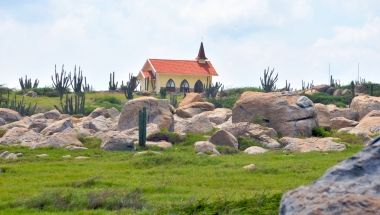 More than 50 Churches dot the map of Aruba with a population of just 105,000. Although the predominant religion on the island is Roman Catholic, many other religions are also practiced and have their own places of worship and relative services.