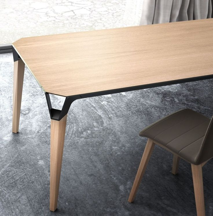 Espectacular detalle que hace la mesa novedosa. Romperla donde no se puede romper home and office furniture (chairs, armchairs, tables)pinterest.com