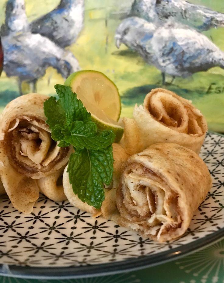 Cinnamon Sugar Pancakes at Rabbit Hole Restaurant