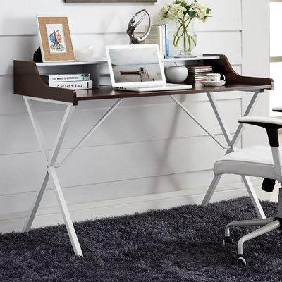 Bin Secretary Desk by Modway