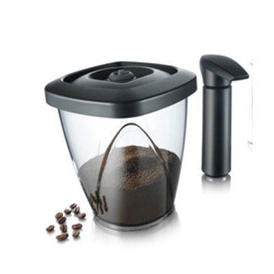 Vacu-Vin 2883450 Récipient de conservation du café sous vide 1.3L