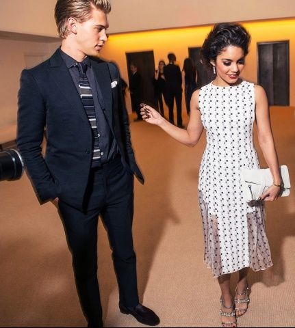 @Vanessa Hudgens & Austin Butler  Parties — 2013 CFDA/Vogue Fashion Fund Awards
