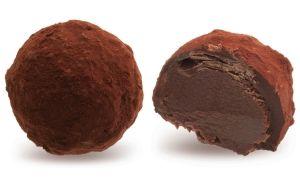 Конфеты ручной работы Frade КАКАО КЛАБ Мои друзья разделяют мои вкусы. Воздушная начинка из темного ганаша и помадки в какао… Трюфельная мания!