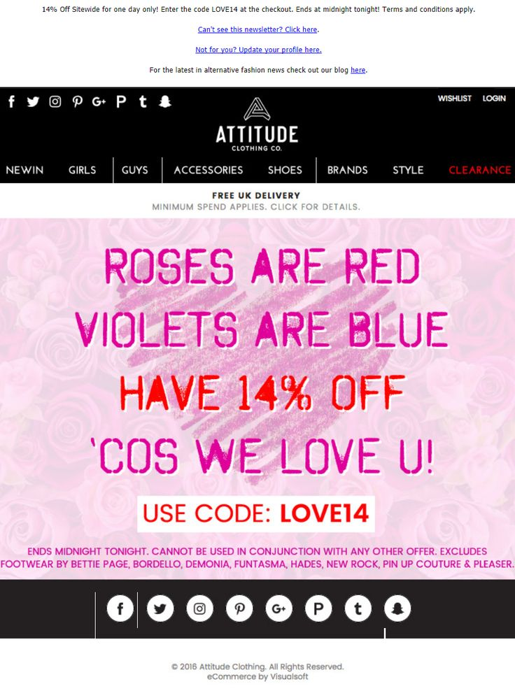Best ValentineS Day Emails Images On   Email