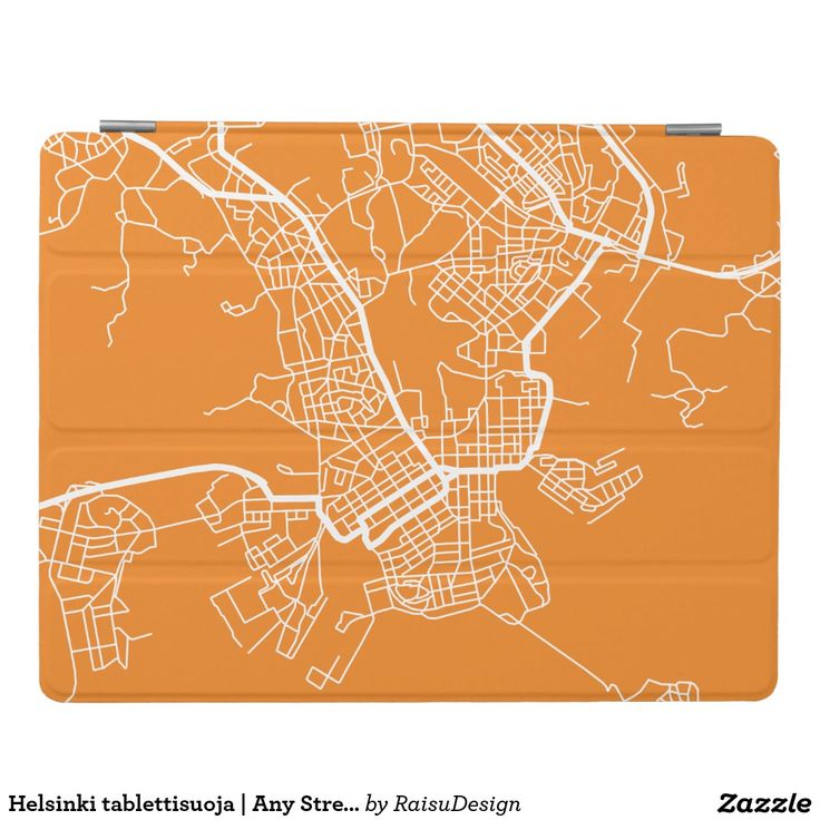 Helsinki tablettisuoja | Any Street Map iPad Cover