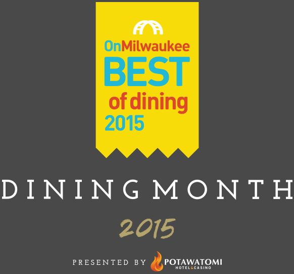 Season's eatings! October may be over, but Dining Month on OnMilwaukee, presented by the restaurants of Potawatomi Hotel & Casino, is still cooking, dishing out your winning picks in this year's Best of Dining poll. Congratulations to all of the winners!