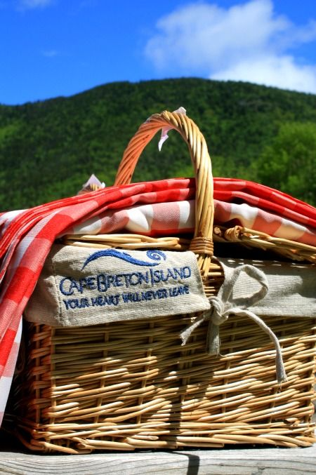 The Perfect Picnic at Cape Breton Highlands National Park photo by Helen Earley