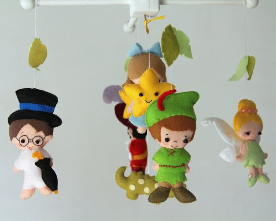 Hey, I found this really awesome Etsy listing at https://www.etsy.com/listing/239137763/peter-pan-mobile-baby-mobile-baby-crib