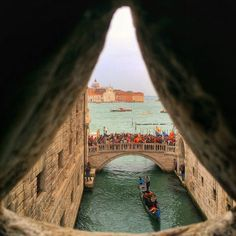 Alternative Venice Bridge of Sighs