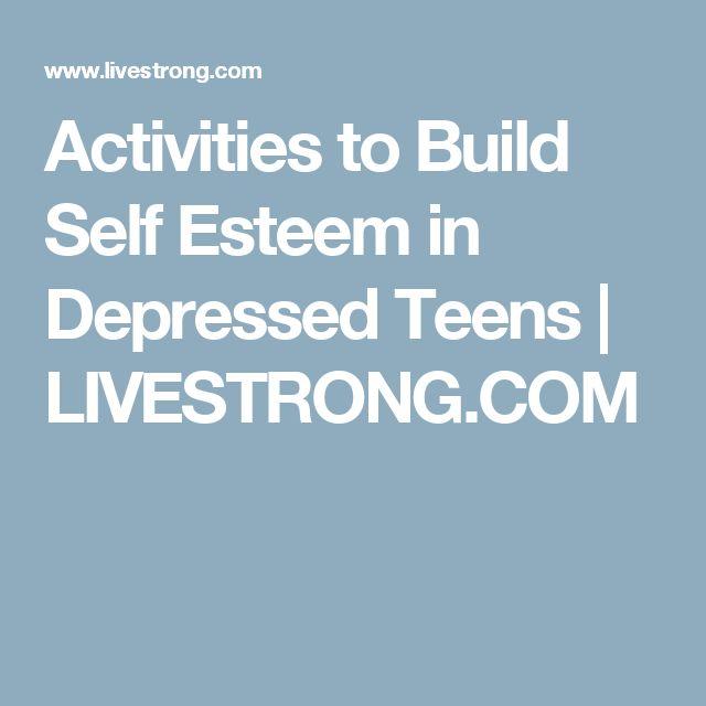 Group Activities Build Self Esteem 106