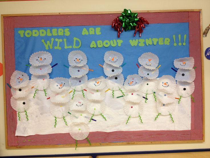 winter bulletin boards | Winter Bulletin Board Idea | school