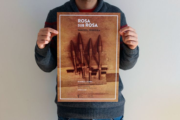 Exhibition - Rosa sub Rosa on Behance
