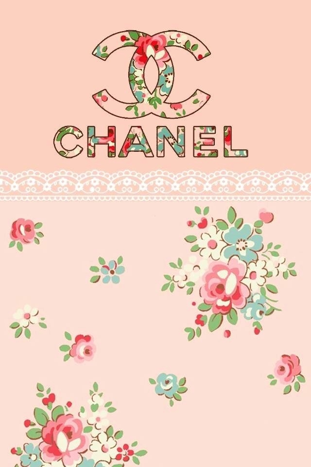 iPhone backgrounds  Wallpaper for iphone and Chanel pink on Pinterest