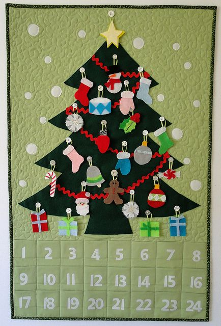 Advent Calendar Decorated | Flickr - Photo Sharing!