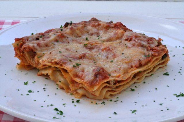 Lasagne met aubergine   Het lekkerste recept vind je op Alles Over Italiaans Eten