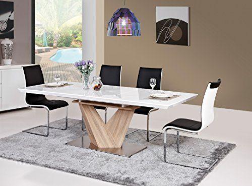 die besten 25 s ulentisch ausziehbar ideen auf pinterest. Black Bedroom Furniture Sets. Home Design Ideas