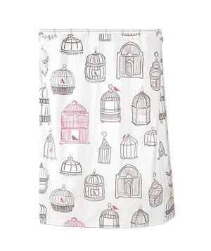 @Amanda David Birdcage Shower Curtain from Urban Outfitters