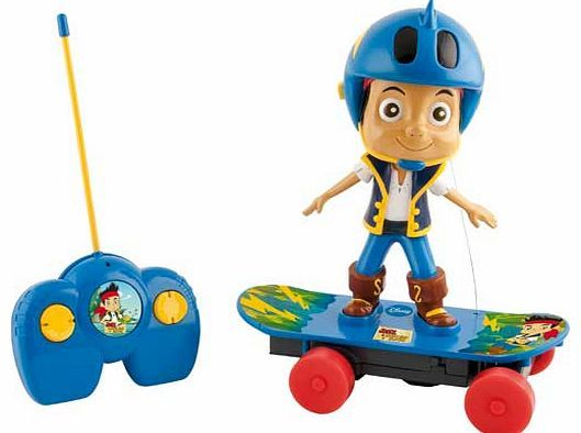 Disney Jake and the Never Land Pirates Remote Control Give your child something new at playtime with Disneys Jake and the Never Land Pirates Remote Control Skateboard. With the easy to use remote control Jake will be zooming around on his skateboard just http://www.comparestoreprices.co.uk/skateboards/disney-jake-and-the-never-land-pirates-remote-control.asp