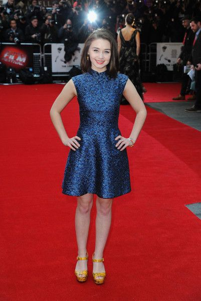 Jessica Barden Photos Photos - Jessica Barden attends 'The Lobster' - Dare Gala, In Association With Time Out during the BFI London Film Festival at Vue Leicester Square on October 13, 2015 in London, England. - 'The Lobster' - Dare Gala, In Association With Time Out - BFI London Film Festival