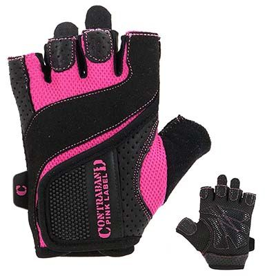 3. Contraband Pink Label 5137 Womens Weight Lifting Gloves