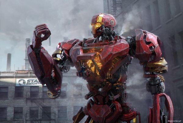 Железный человек в стиле Стимпанк (Steampunk Iron man)