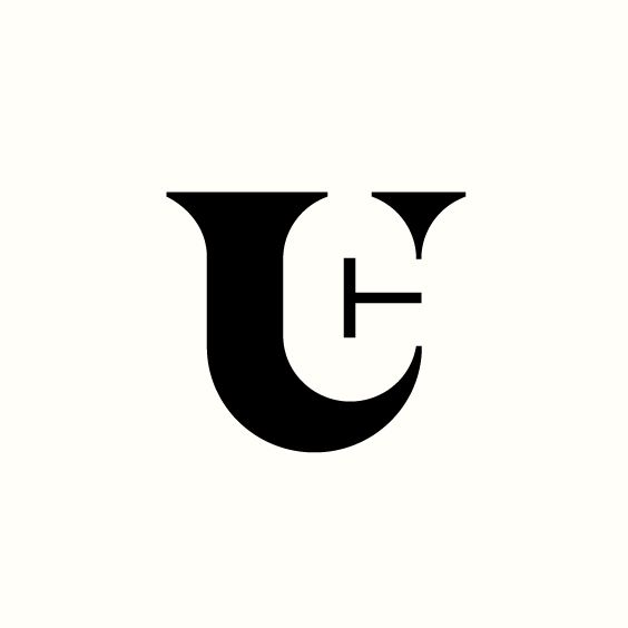 T.U.C. Monogram by Richard Baird. (Available). #logo #branding