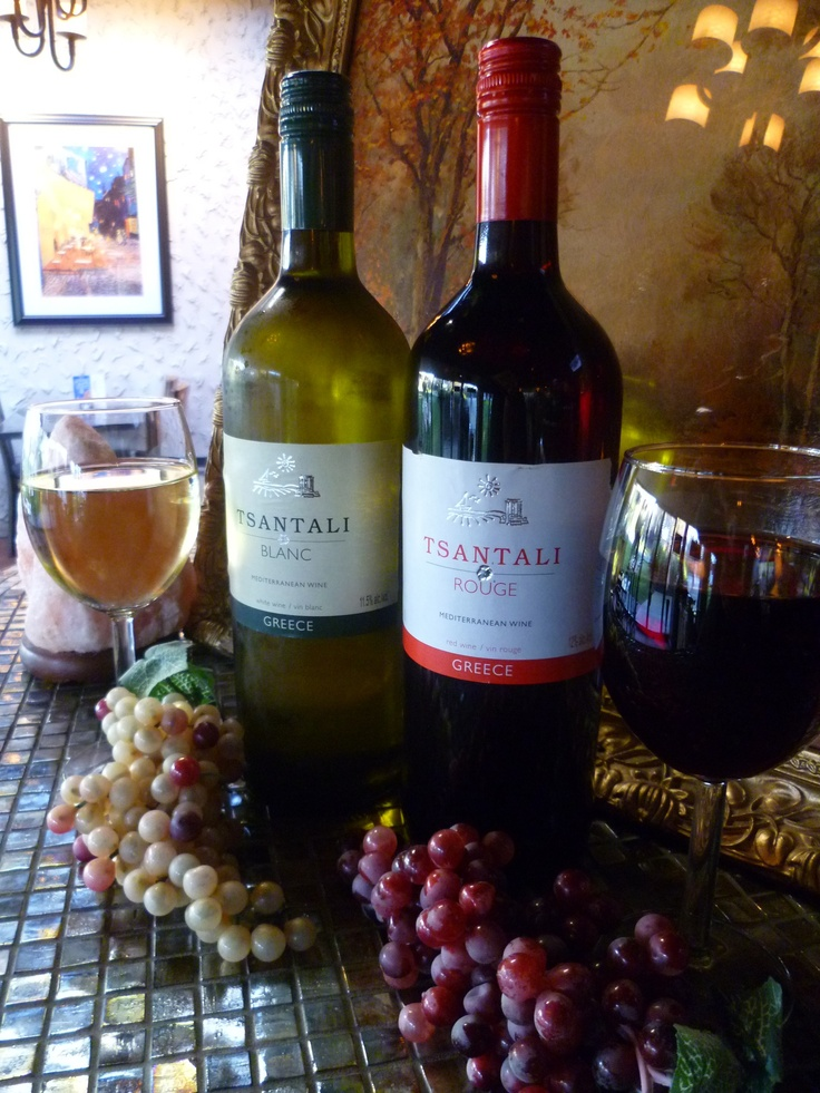 Tsantali Rouge & Tsantali Blanc are on special this weekend for $7/glass