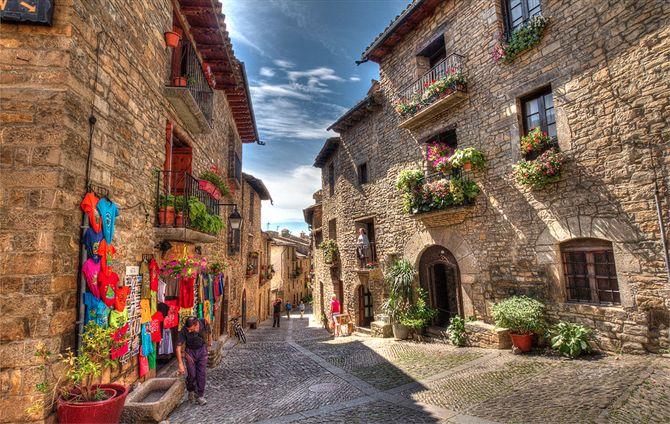 Aínsa - Huesca (Espagne)