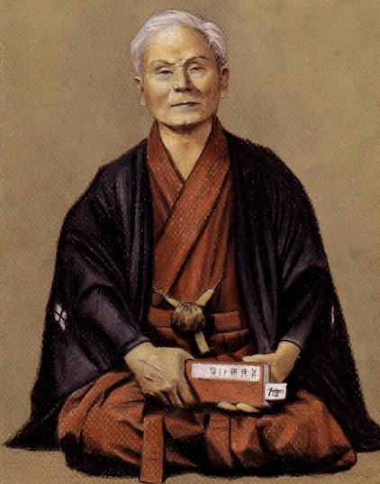 """GICHIN FUNAKOSHI- (November 10, 1868 – April 26, 1957) was the founder of Shotokan karate, perhaps the most widely known style of karate, and is attributed as being the """"father of modern karate"""". Following the teachings of Anko Itosu, he was one of the Okinawan karate masters who introduced karate to the Japanese mainland in 1922. He taught karate at various Japanese universities and became honorary head of the Japan Karate Association upon its establishment in 1949."""