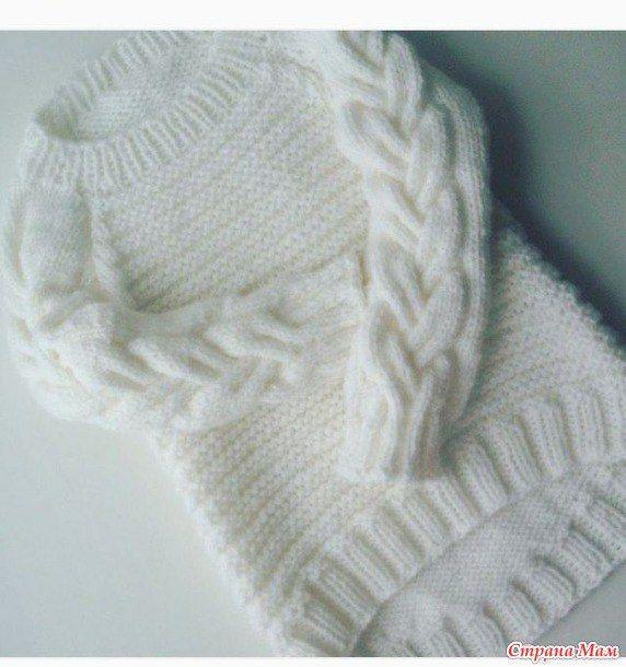 Красивый пуловер для девочек, девушек, женщин. Вязание онлайн