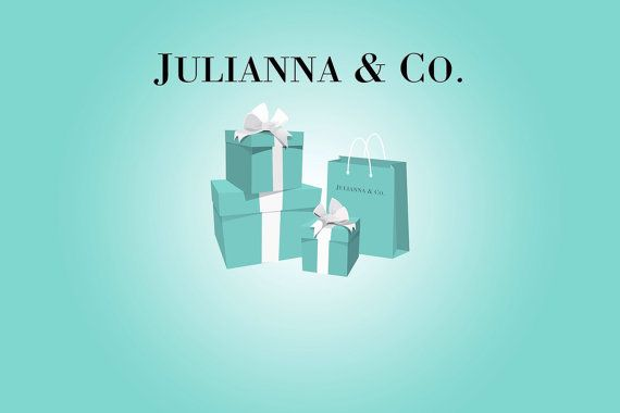 Tiffany / Breakfast at Tiffanys Themed Party Backdrop  on JPEG by SweetandClever   Etsy