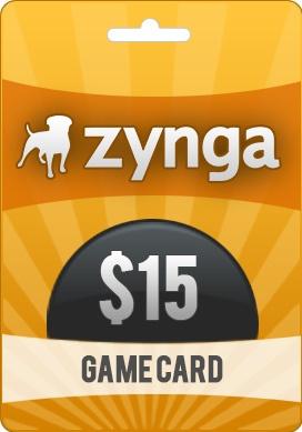 Buy $15 Zynga Game Card - pcgamesupply