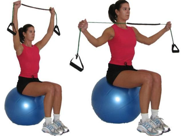 10 best images about resistance band workout on pinterest