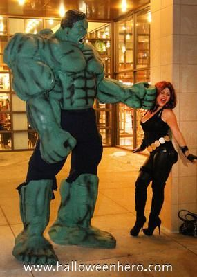 Incredible Hulk Costume: The Hulk and the Avengers were always my favorite characters ever! I have seen those movies dozens of times and wanted to bring the energy from the big