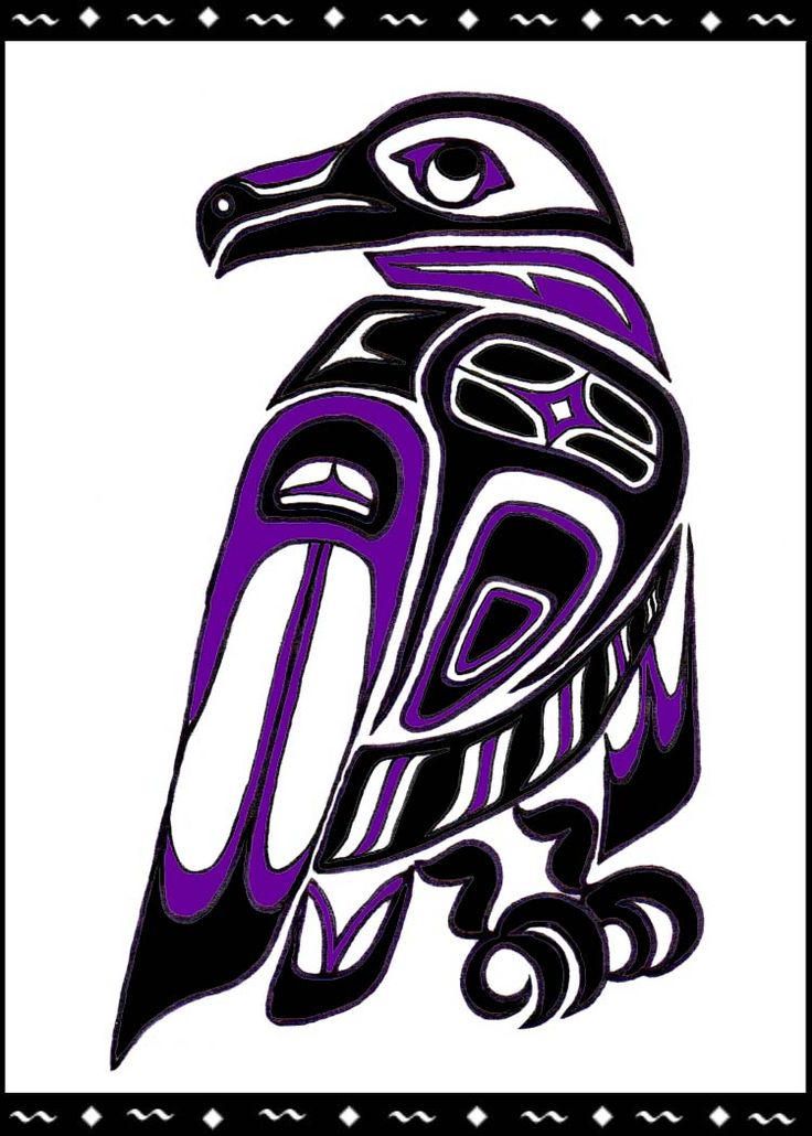 """""""Raven Totem"""" by Melissa Muir (Lagaz) Creation, knowledge, magic and light. Those who carry Crow/Raven medicine once they become attuned to it, can begin drawing what they need and value into their own lives. They also have the ability to teach others how to learn to value themselves and others, to go for the gold, the best in one's life and to be open to receive from the Universe."""