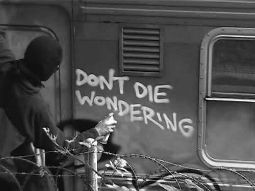 Words Of Wisdom, Life, Graffiti, Up North, Street Art, Living, Inspiration Quotes, Die Wonder, Streetart