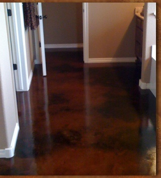 1000 Images About Stained Concrete On Pinterest Stains Dark Brown And Epoxy Coating