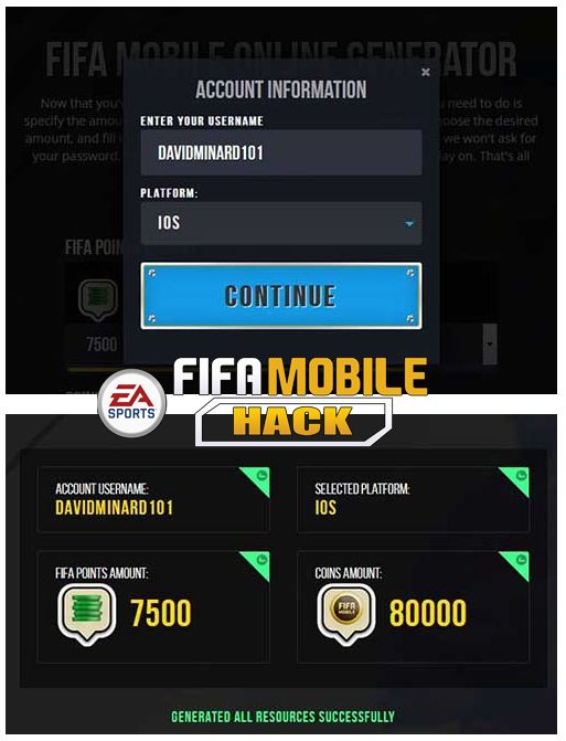 FIFA Mobile Hack Tool - Unlimited Free Coins and Fifa Points