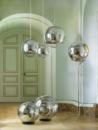 Tom Dixon - Mirror Ball Pendelleuchte Ø 40 cm:Amazon.de:Küche & Haushalt