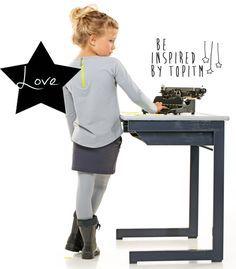 TOPitm is een online kinderkleding merk, dat stoere, duurzame en betaalbare meisjes kleding verkoopt.